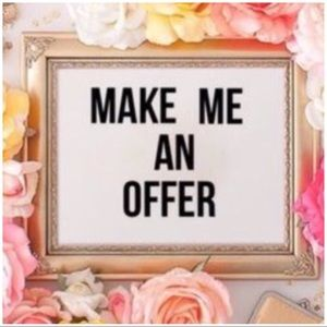 Make me an offer 🌸